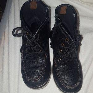 Black boy boot.